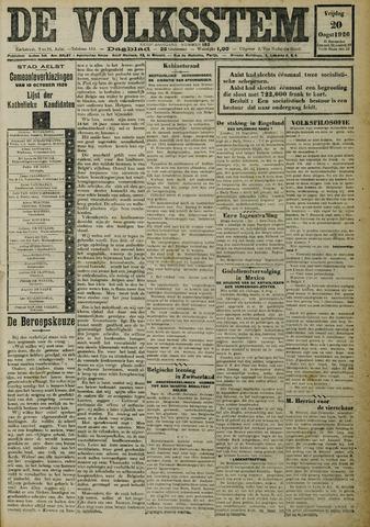 De Volksstem 1926-08-20