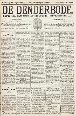 De Denderbode 1887-08-11