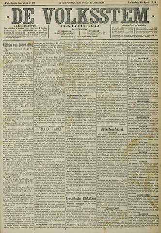 De Volksstem 1914-04-18
