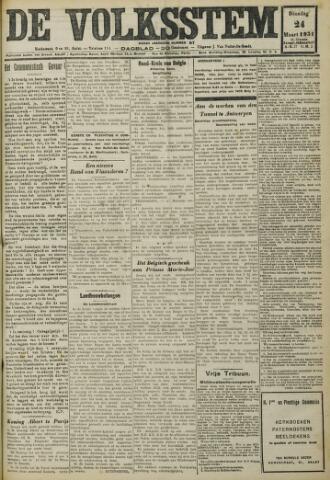 De Volksstem 1931-03-24