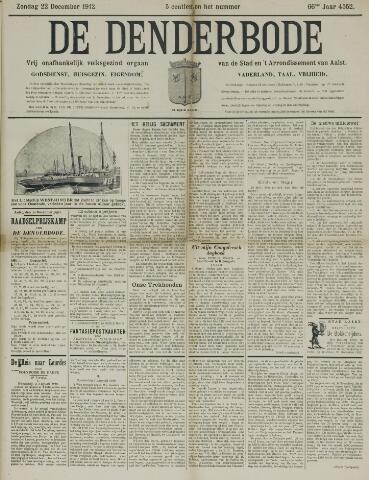 De Denderbode 1912-12-22