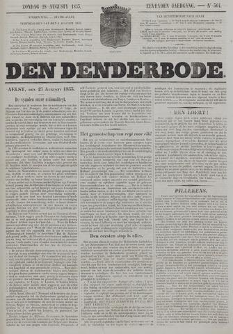 De Denderbode 1853-08-28