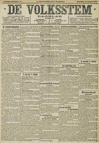 De Volksstem 1914-01-14