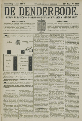 De Denderbode 1890-06-05