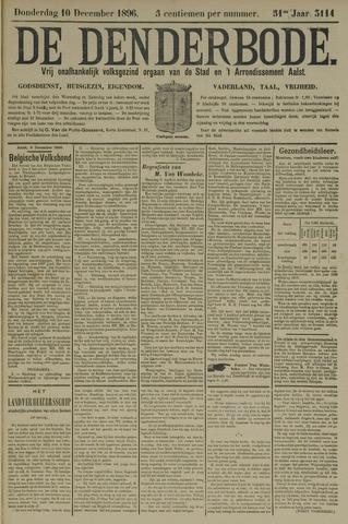 De Denderbode 1896-12-10