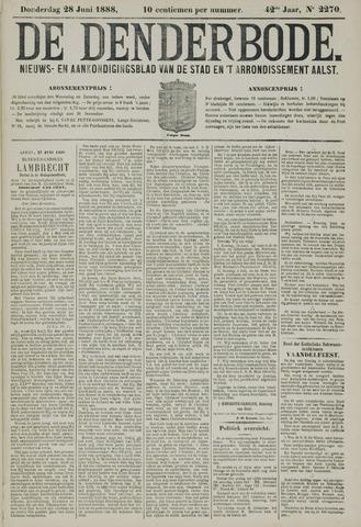 De Denderbode 1888-06-28