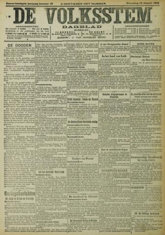 De Volksstem 1915-01-13