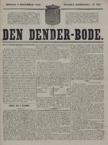 De Denderbode 1848-12-03
