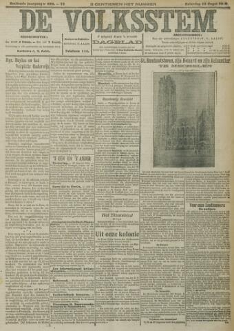 De Volksstem 1910-08-13
