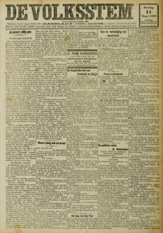 De Volksstem 1923-08-14