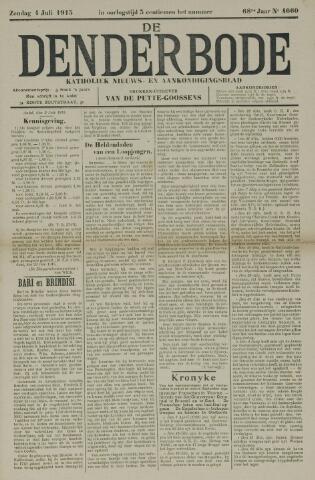 De Denderbode 1915-07-04