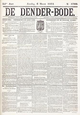 De Denderbode 1881-03-06
