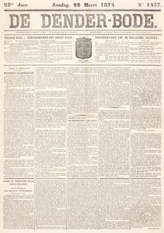 De Denderbode 1874-03-22