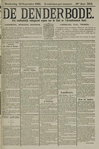 De Denderbode 1895-09-12