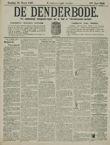 De Denderbode 1907-03-10