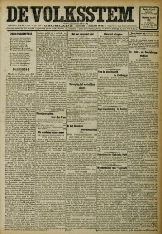 De Volksstem 1923-04-01