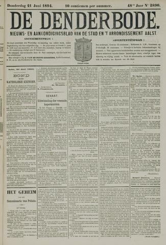 De Denderbode 1894-06-21