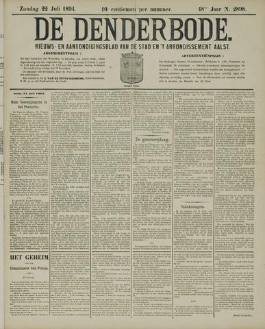 De Denderbode 1894-07-22