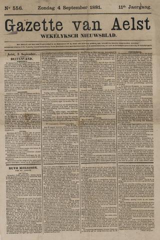 De Gazet van Aalst 1881