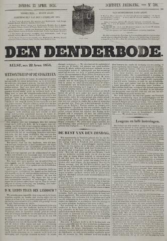 De Denderbode 1854-04-23