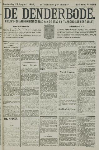 De Denderbode 1891-08-13