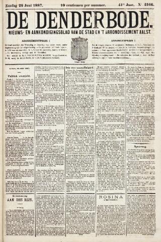 De Denderbode 1887-06-26