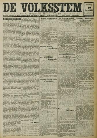 De Volksstem 1926-08-10