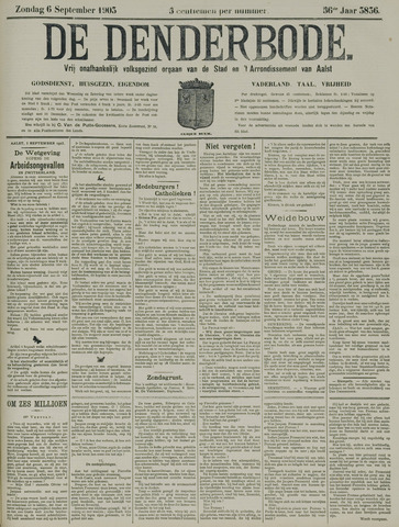 De Denderbode 1903-09-06