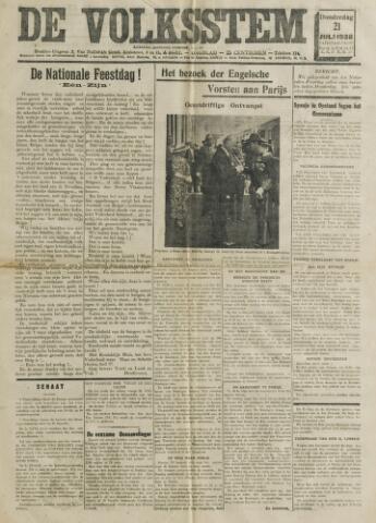 De Volksstem 1938-07-21