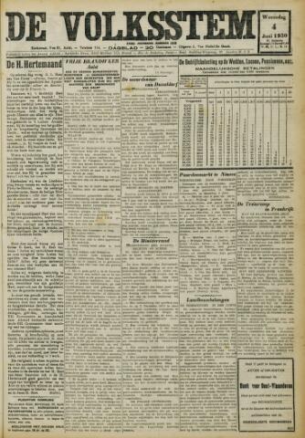 De Volksstem 1930-06-04