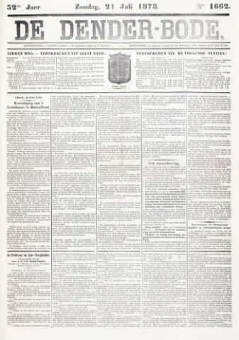 De Denderbode 1878-07-21