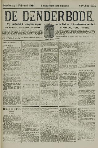De Denderbode 1911-02-02