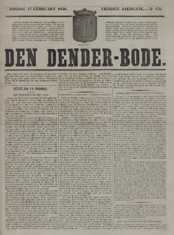 De Denderbode 1850-02-17