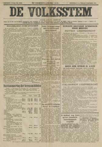 De Volksstem 1941-12-04
