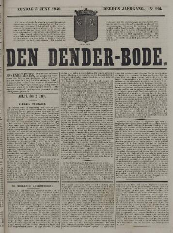 De Denderbode 1849-06-03