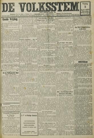 De Volksstem 1931-04-03
