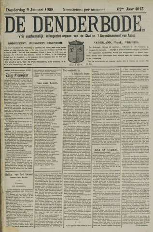 De Denderbode 1908