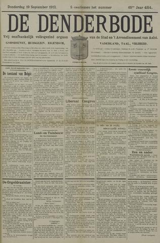 De Denderbode 1912-09-19