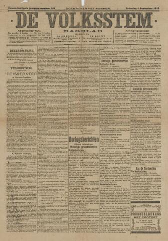 De Volksstem 1915-09-04