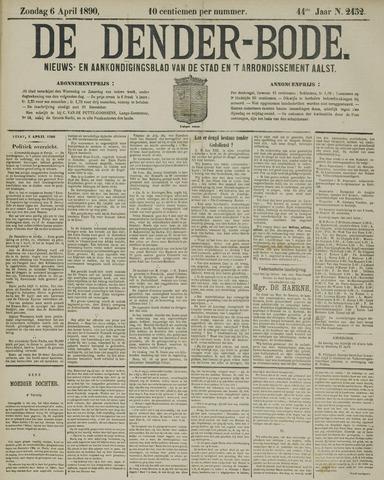 De Denderbode 1890-04-06