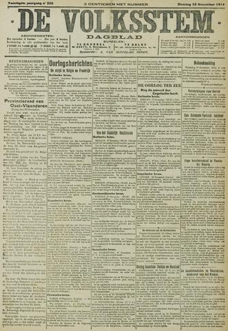 De Volksstem 1914-12-22