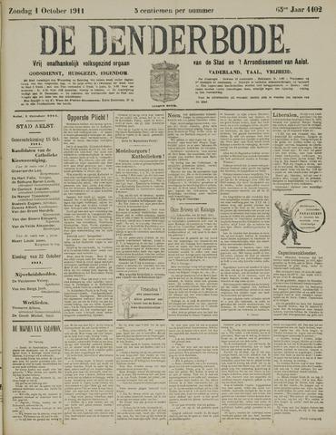 De Denderbode 1911-10-01