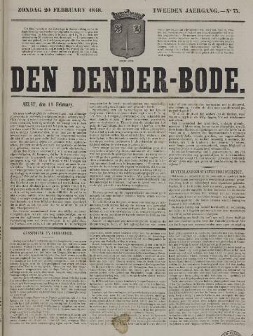 De Denderbode 1848-02-20