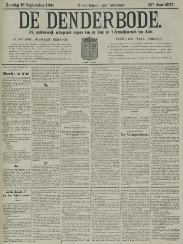 De Denderbode 1904-09-18