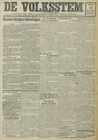 De Volksstem 1931-07-31