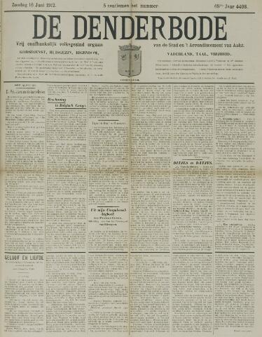 De Denderbode 1912-06-16