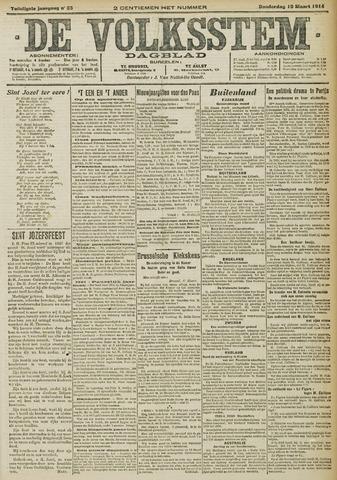 De Volksstem 1914-03-19