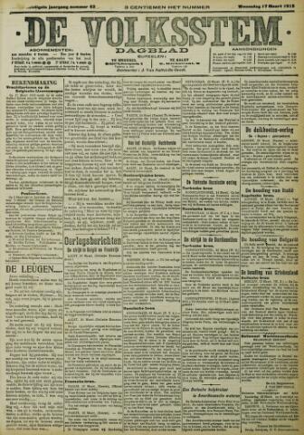 De Volksstem 1915-03-17