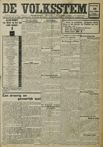 De Volksstem 1926-09-30