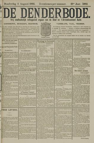 De Denderbode 1895-08-01